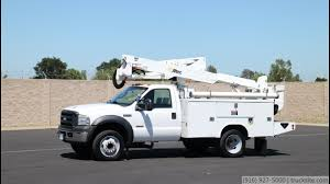 100 Bucket Trucks For Sale By Owner 2007 D F550 Altec AT37G 42 Truck For Sale YouTube
