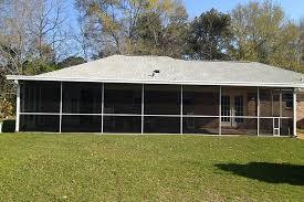 Patio Mate Screen Enclosure Roof by Screen Rooms Rescreens Patio Enclosure Alabama Florida