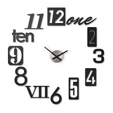 wanduhr numbra horloge murale horloge murale design