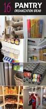 Pantry Cabinet Organization Ideas by Pantry Organization Ideas You Don U0027t Want To Miss