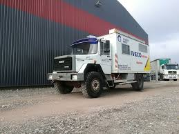 100 Iveco Truck IVECO 120E16 4x4 Expedition Truck Closed Box Truck