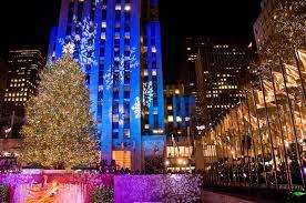 Rockefeller Christmas Tree Lighting 2014 Watch by Big Christmas Tree In New York Christmas Lights Decoration
