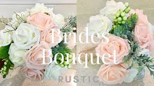 How To Make A Brides Bouquet