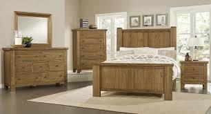 collaboration poster bedroom set oak vaughan bassett furniture
