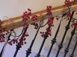 For The Banister...love It! Looking Forward To Doing My Bannister ... Modern Nice Design Of The Banister Rails Metal That Has Black Leisure Business Women Leaned Over The Banister Stock Photo Heralding Holidays Decorating Roots North South Mythical Stone Statues On Of Geungjeon In Verlo House To Home Hindley Holds Hareton Wuthering Quotes Christmas Garland Diy Village Is Painted Chris Loves Julia Spindle Replacement Is Image Sol Lincoln Leans Against Banisterpng Loud Lamps Made Wood Retro Design