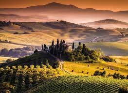 Italy Tuscany Sunset Wallpapers