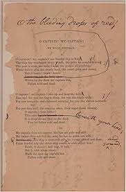 Walt Whitman The Wound Dresser Analysis by O Captain My Captain Wikipedia