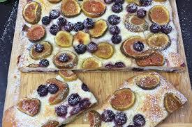 toskanischer trauben feigen kuchen ein herbstgenuss backen