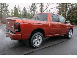 100 Sport Truck Rv PreOwned 2013 Ram 1500 57L V8 4x4 4WD Crew Cab 1405