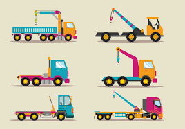 100 Towing Truck Service Vector Flat Illustration Download Free Vector
