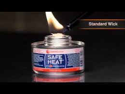 Sterno Candle Lamp Company by Wick Chafing Fuel Options Youtube