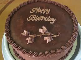 Beautiful Happy Birthday Chocolate Cake 5