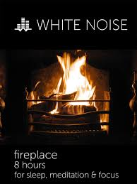 Amazon White Noise Fireplace 8 Hours for Sleep Meditation