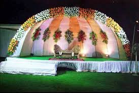 Modern Wedding Reception Stage Decorations Beautiful