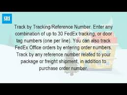 How Do I Track A Fedex Package Without A Tracking Number
