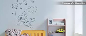 stickers chambre enfants stickers chambre enfant lapin dans les nuages