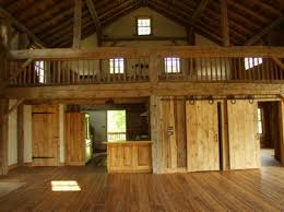 Grand Rustic Open Floor Plans With Loft 10 Colas Barn Home ConversionMy DreamOpen Plan