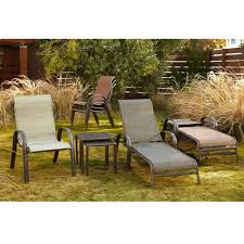 Stacking Steel Sling Patio Chair by Sling Stacking Chair Blue Accent Furniture Patio Furniture