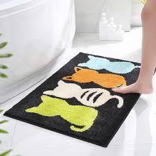 katze 60 90 80 120cm bad teppich teppich nicht slip bath matte saugfähigen bad pad große größe schlafzimmer wc boden teppich