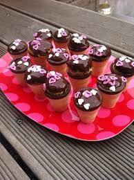 waffelbecher muffins als leckeres mitbringsel
