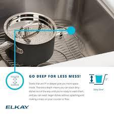 Elkay Crosstown Bar Sink by Faucet Com Efru311610 In Stainless Steel By Elkay