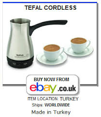 TEFAL Cordless Electric Turkish Coffee Pot