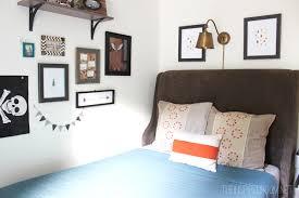 Teen Boy Bedroom Makeover Progress The New Bed