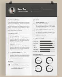 Unique Resume Templates Regarding Unique Resume Templates With