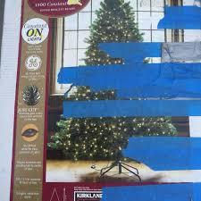 Kirkland Signature 7 1 2 Ft Pre Lit Christmas Tree