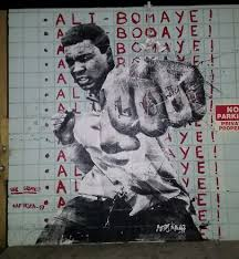 Famous Mural Artists Los Angeles by Here U0027s A Cool Mural Of Muhammad Ali By Famous Streetartist Afrika
