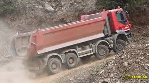 100 Dump Truck Drivers IVECO Trakker 8x8 Dump Truck Driving At The Quarry YouTube