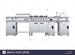 Kitchen Equipment Front View