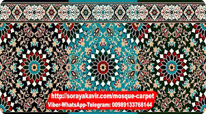 Islamic Carpet For Mosque Tile Design Soraya Kavir Manufacturer Specialist