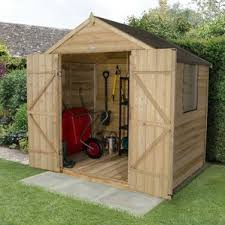 6x8 Wooden Storage Shed by Sheds Wayfair Co Uk