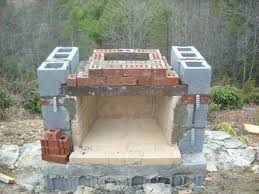 Outdoor Fireplace Plans Diy How To Build Building An Parts Tools
