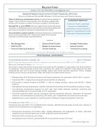 Sales Management Resume Examples 2016 Plus Chief Financial Officer Sample Senior Finance Executive For Prepare