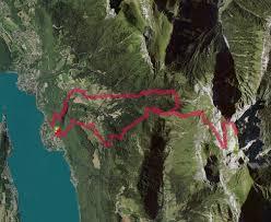trace de trail cascade d angon chalet des crottes chalet de