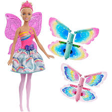 Barbie Kingdom Dreamtopia Rainbow Cove Flying Wings Fairy Doll