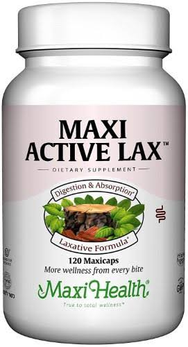 Maxi Health Vitamin Active Lax Dietary Supplement - 120ct