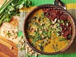 West African Peanut Soup Meets Khao Soi Extra Nuttiness Ensues