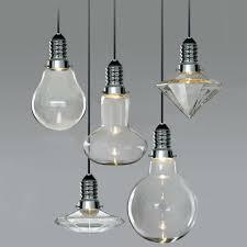 cancri led glass bulb modern pendant light chandelier