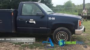 100 Chevy Service Truck Lot 189 2000 2500 YouTube