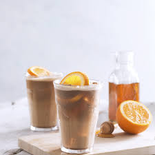 Almond Horchata Iced Coffee