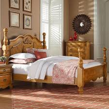 Cannonball Bale Beds by Ethan Allen Pair Of Painted Twin Poster Beds The High Country