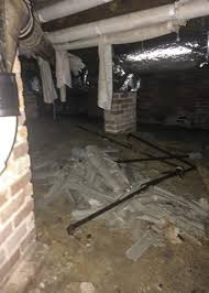 Washington NC Basement Waterproofing Crawl Space Repair