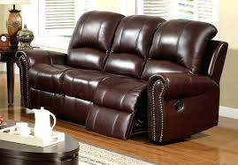 Darrin Leather Reclining Sofa With Console by Leather Power Reclining Sofa Reviews Furniture Ideas Enchanting