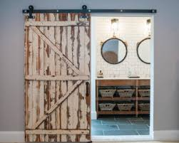 Rustic Barn Door For Bathroom : DIY Barn Door For Bathroom – The ... Rustic Style Barn Door Modern Industrial Industrial Sliding Barn Door For Bathroom Home Design Ideas Bedroom Sliding Farm Interior Doors For Homes Double 15 That Bring Beauty To The Bathroom Best 25 Doors Ideas On Pinterest Privacy 19 Shower Bathrooms Amazing How To Hang The Marriott Hotel With Soft Close Most Widely Used Project Kids Diy Window Cover 12