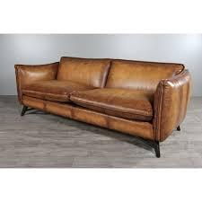 canapé cuir vieilli marron canap cuir vieilli marron cool cool photo canap cuir aspect