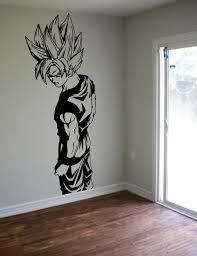 Dragon Ball Z Goku Wall Decal Sticker Vinyl Decor Kids Room Boys