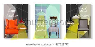 Furniture Sale Advertisement FlyersVector BannersSale Tag Banner 3 SetsElements Of